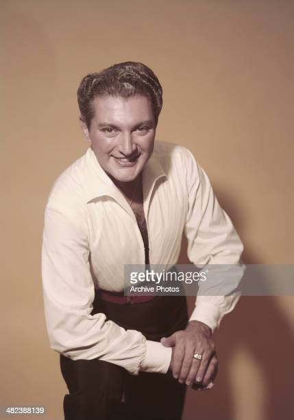 American pianist and singer Liberace circa 1955