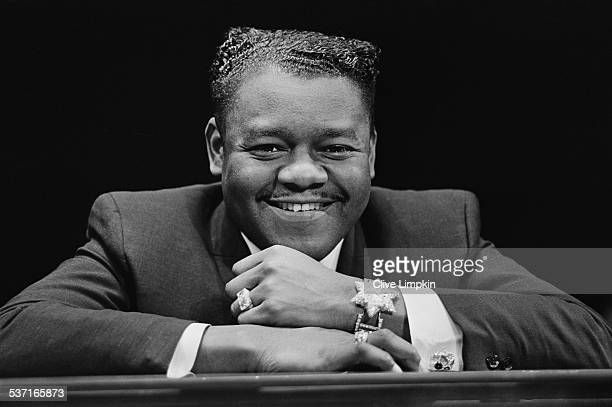 American pianist and singersongwriter Fats Domino 27th March 1967