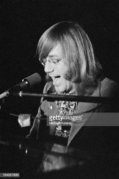 American pianist Ray Manzarek performs with The Doors at Imperial College London 12th May 1972