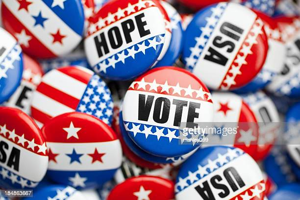 american pin for usa election