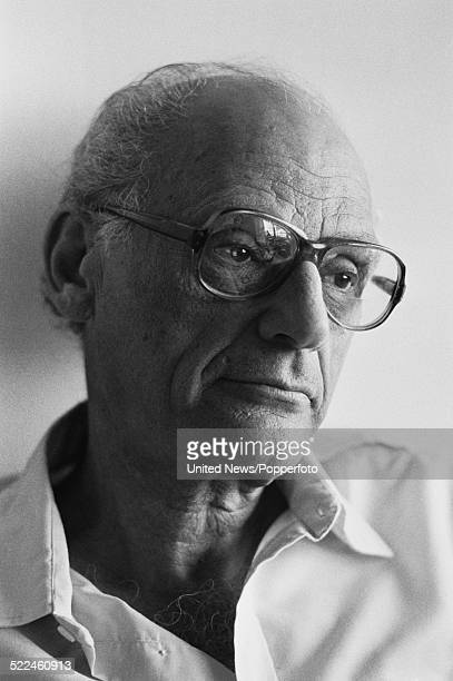 American playwright Arthur Miller pictured in London on 6th September 1979