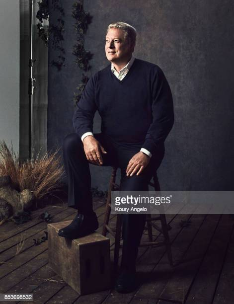 American politician and environmentalist Al Gore is photographed for The Hollywood Reporter on January 2 2017 in Los Angeles California COVER IMAGE
