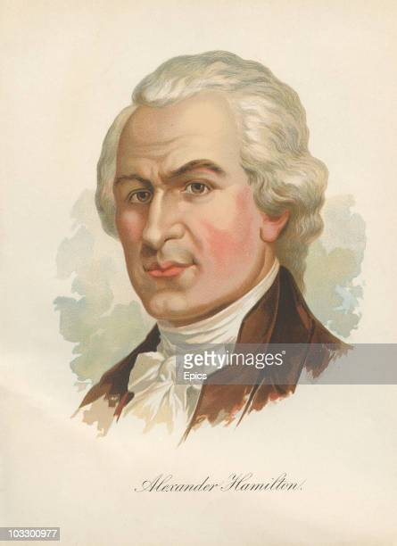 American politician and political thinker Alexander Hamilton circa 1790 He was the main author of the Federalist Papers and served as Secretary of...