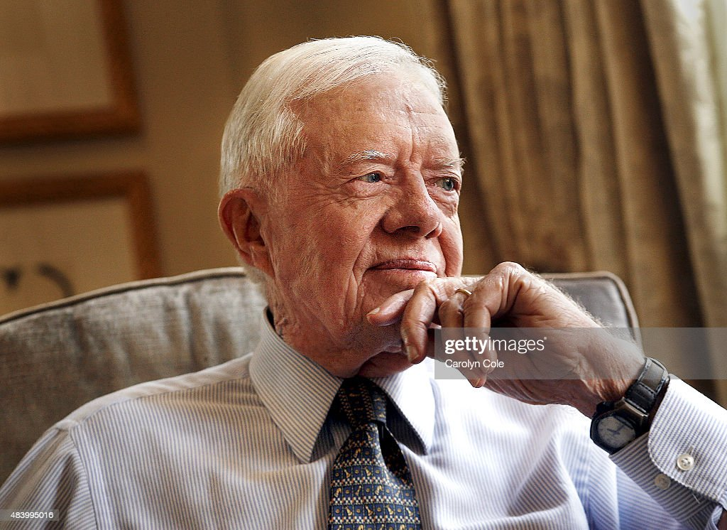 American politician, author, and member of the Democratic Party who served as the 39th President of the United States from 1977 to 1981 is photographed for Los Angeles Times on November 27, 2006 in New York City. PUBLISHED IMAGE.