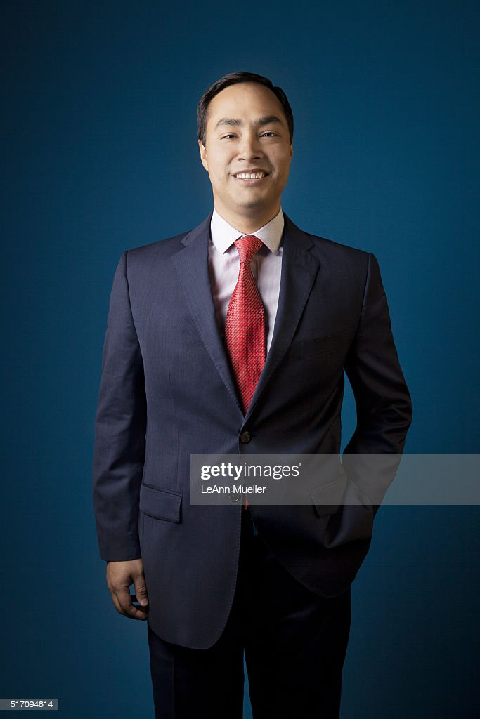 American politician Joaquin Castro is photographed for Texas Monthly Magazine on August 1, 2013 in Austin, Texas.