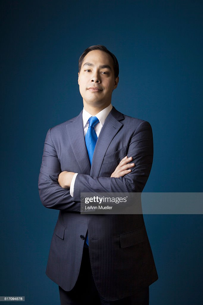 American politician Julian Castro is photographed for Texas Monthly Magazine on August 1, 2013 in Austin, Texas.