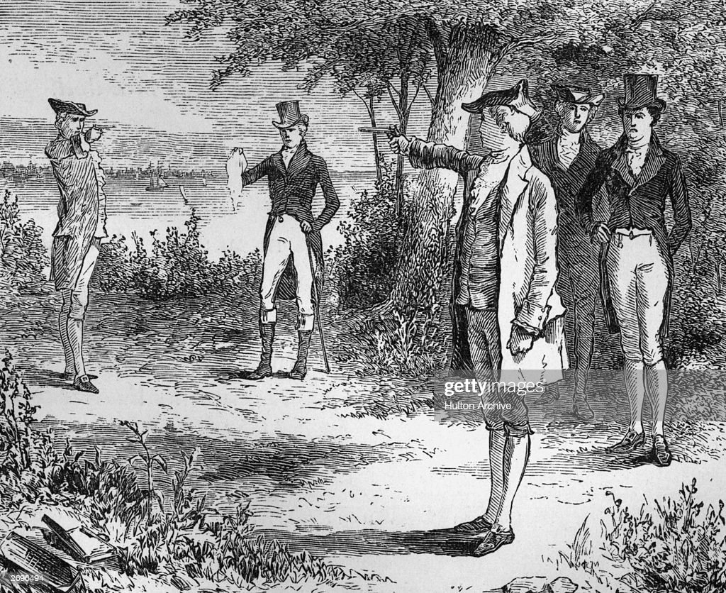Famous Burr, Hamilton Duel To Be Reenacted By Relatives