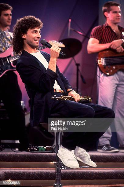 American Pop and Jazz musician Kenny G appears on an episode of the Oprah Winfrey Show Chicago Illinois November 1 1986