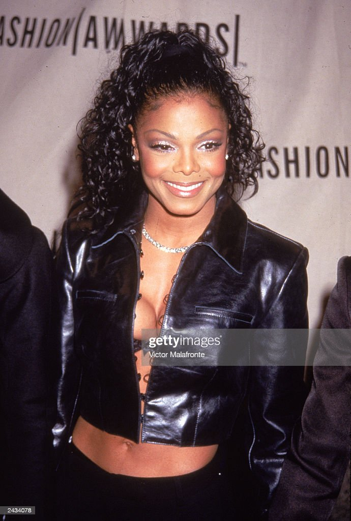 American pop and R B singer Janet Jackson attends the VH1 Fashion Awards in New York City October 23 1998 Jackson won the Most Stylish Music Video...