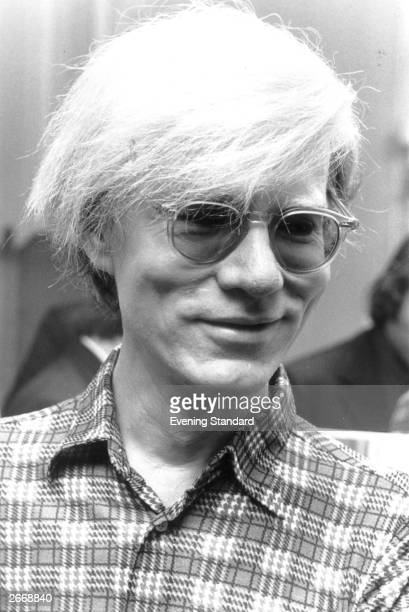 American pop artist and film maker and mentor of The Velvet Underground Andy Warhol