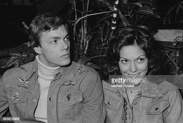 American pop duo The Carpenters Karen Carpenter and her brother Richard London 9th February 1974