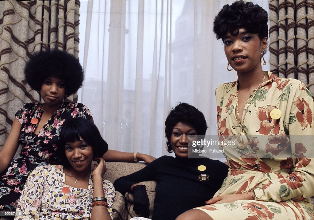 American pop group The Pointer Sisters London 16th January 1974 They are sisters Anita Ruth Bonnie and June Pointer