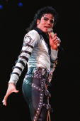 American pop music star Michael Jackson sings 13 October 1988 at the Capital Center in Landover Maryland AFP PHOTO/Luke FRAZZA