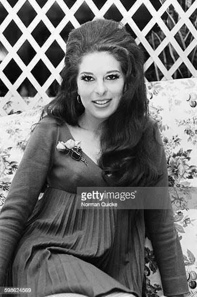 American pop singer Bobbie Gentry UK 12th October 1967