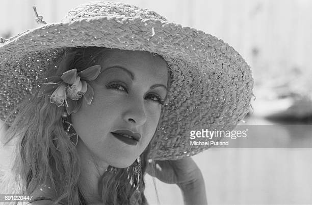 American pop singer Cyndi Lauper Hawaii October 1986