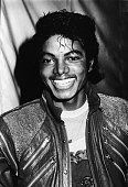 American pop singer Michael Jackson attends the opening of the stage musical 'Dream Girls' In Los Angeles 1983
