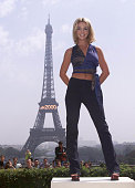 American pop star Britney Spears poses for a promotional photoshoot for the launch of her album 'Oops I Did It Again' on May 5 2000 in Paris France
