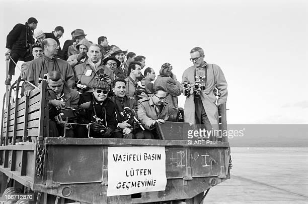 American President Dwight D Eisenhower In Turkey En decembre 1959 à l'occasion d'un voyage officiel en Turquie à Ankara du président des EtatsUnis...