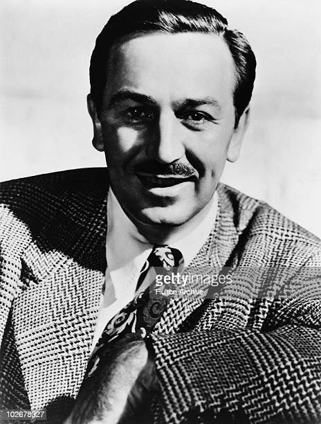 American producer director and animator Walt Disney circa 1955