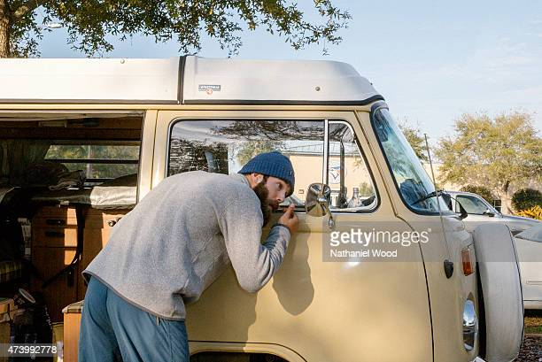 TAMPA FL FEBRUARY 16 2015 American professional baseball pitcher for the Toronto Blue Jays Daniel Norris is photographed for ESPN The Magazine on...