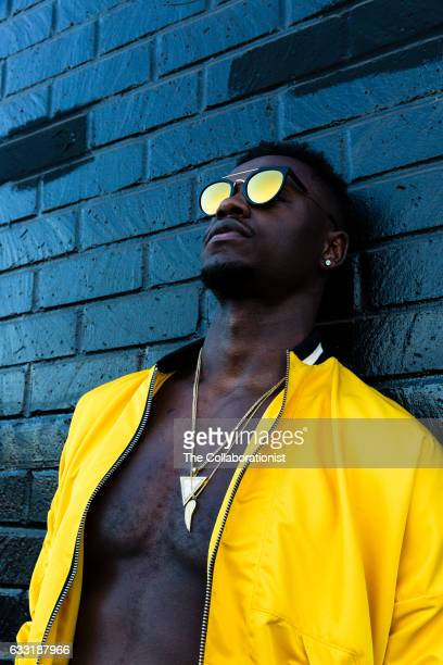 American professional basketball player for the Los Angeles Lakers Julius Randle is photographed for Bleacher Report on September 15 2016 in Los...