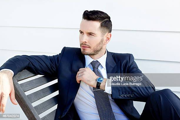 American professional basketball player JJ Redick is photographed for The Hollywood Reporter on September 26 2014 in Los Angeles California PUBLISHED...