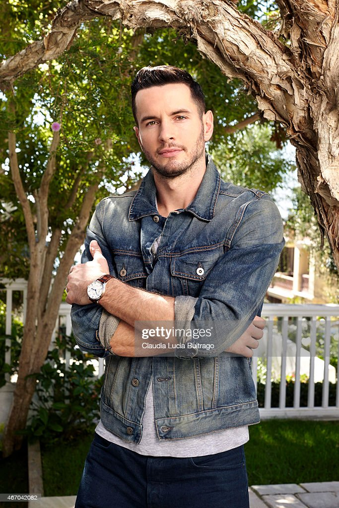 American professional basketball player JJ Redick is photographed for The Hollywood Reporter on September 26, 2014 in Los Angeles, California. PUBLISHED IMAGE.