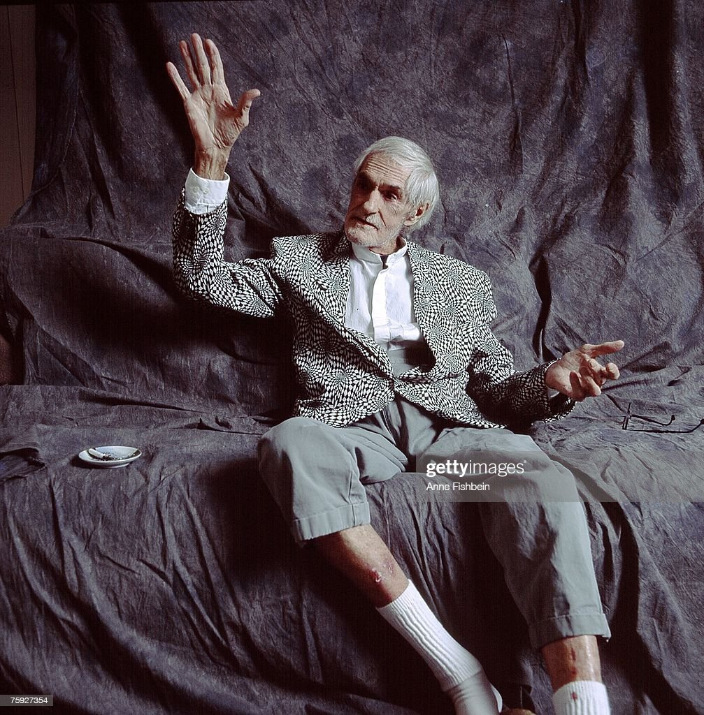 American psychologist and writer Timothy Leary (1920 - 1996, circa 1995.