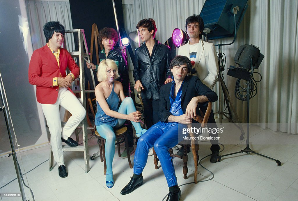 American punk rock band Blondie, 1979. From left to right (back row) drummer <a gi-track='captionPersonalityLinkClicked' href=/galleries/search?phrase=Clem+Burke&family=editorial&specificpeople=618427 ng-click='$event.stopPropagation()'>Clem Burke</a>, bass player <a gi-track='captionPersonalityLinkClicked' href=/galleries/search?phrase=Nigel+Harrison&family=editorial&specificpeople=810467 ng-click='$event.stopPropagation()'>Nigel Harrison</a>, keyboard player <a gi-track='captionPersonalityLinkClicked' href=/galleries/search?phrase=Jimmy+Destri&family=editorial&specificpeople=810466 ng-click='$event.stopPropagation()'>Jimmy Destri</a> and guitarist <a gi-track='captionPersonalityLinkClicked' href=/galleries/search?phrase=Frank+Infante&family=editorial&specificpeople=810465 ng-click='$event.stopPropagation()'>Frank Infante</a>;(front row) singer <a gi-track='captionPersonalityLinkClicked' href=/galleries/search?phrase=Debbie+Harry&family=editorial&specificpeople=209145 ng-click='$event.stopPropagation()'>Debbie Harry</a> and guitarist <a gi-track='captionPersonalityLinkClicked' href=/galleries/search?phrase=Chris+Stein&family=editorial&specificpeople=239488 ng-click='$event.stopPropagation()'>Chris Stein</a>.