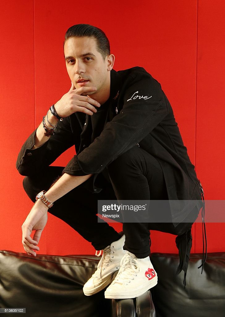 American rapper GEazy poses during a photo shoot in Sydney New South Wales