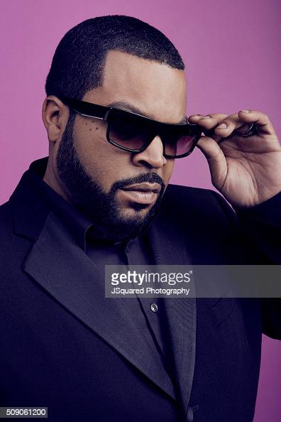 American rapper record producer actor and filmmaker Ice Cube poses for a portrait during the 47th NAACP Image Awards presented by TV One at Pasadena...