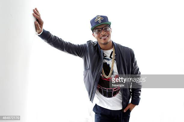 American rapper TI poses during a photo shoot at the Darling Hotel on September 3 2014 in Sydney Australia TI is in Australia to promote his new...