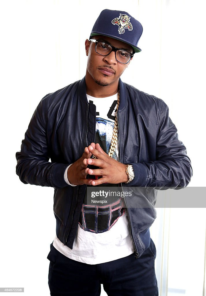American rapper <a gi-track='captionPersonalityLinkClicked' href=/galleries/search?phrase=T.I.&family=editorial&specificpeople=221599 ng-click='$event.stopPropagation()'>T.I.</a> poses during a photo shoot at the Darling Hotel on September 3, 2014 in Sydney, Australia. <a gi-track='captionPersonalityLinkClicked' href=/galleries/search?phrase=T.I.&family=editorial&specificpeople=221599 ng-click='$event.stopPropagation()'>T.I.</a> is in Australia to promote his new album, 'Paperwork: The Motion Picture'.