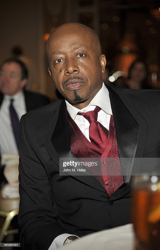 American Rapper/dancer M.C. Hammer at the 2013 Grammy Foundation's 15th Annual Entertainment Law Initiative Luncheon at the Beverly Hills Hotel on February 8, 2013 in Beverly Hills, California.