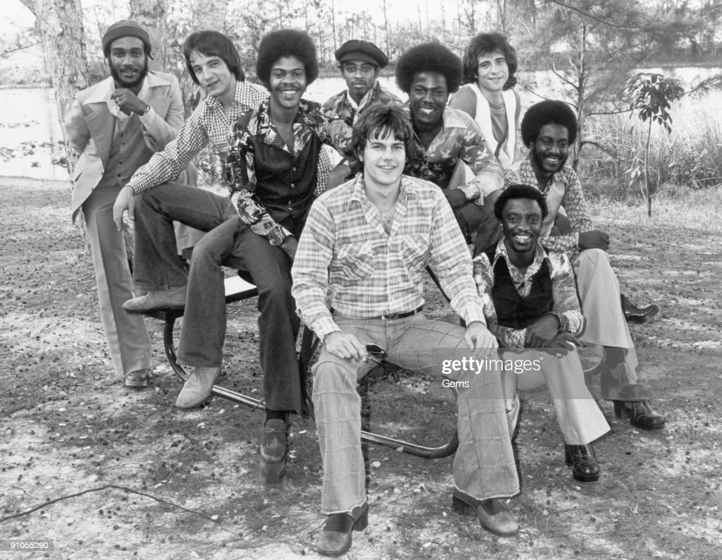 American R&B and disco group KC and the Sunshine Band, 1976. From TK Records.