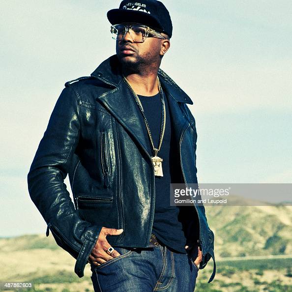 American RB and pop record producer and singersongwriter TheDream for Spec on January 1 2012 in Los Angeles California