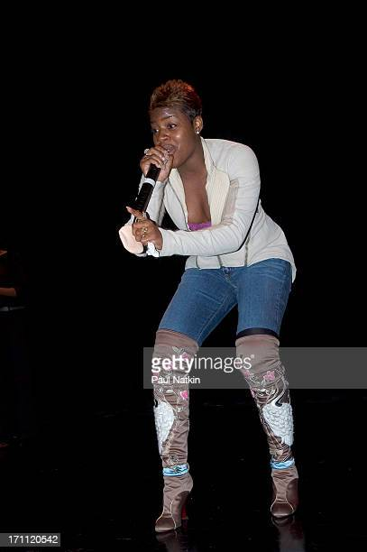 American RB singer Fantasia Barrino performs onstage at the Park West Theatre Chicago Illinois February 18 2005