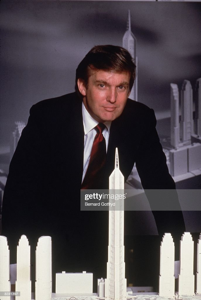 Donald trump turns 65 getty images for Donald model