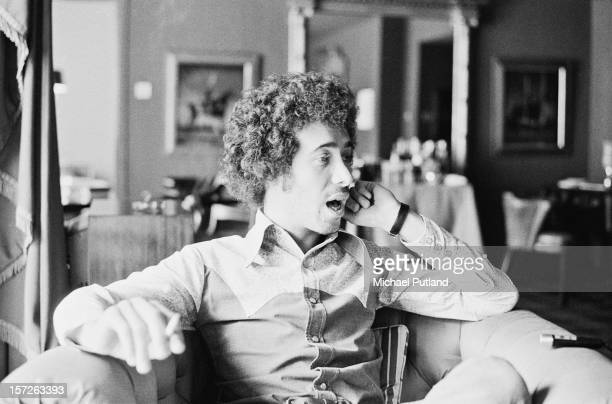 American record executive David Geffen at the Inn On The Park 20th July 1972