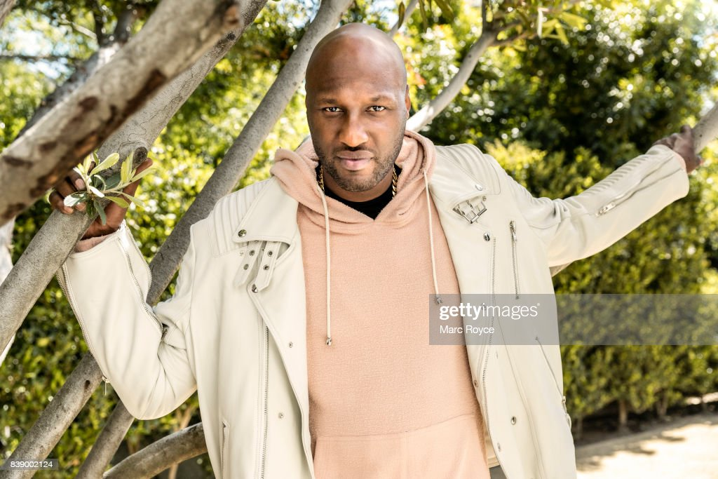 American retired professional basketball player Lamar Odom is photographed for Us Weekly on February 23, 2017 in Los Angeles, California.