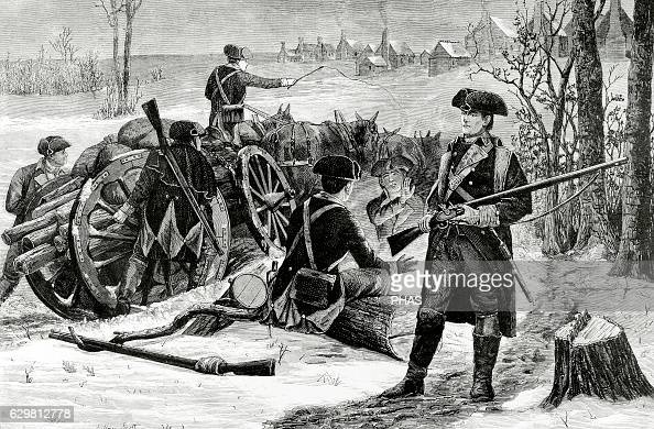 the battle of valley forge Valley forge was where the american continental army made camp during the   lafayette would later become an important commander at several key battles.