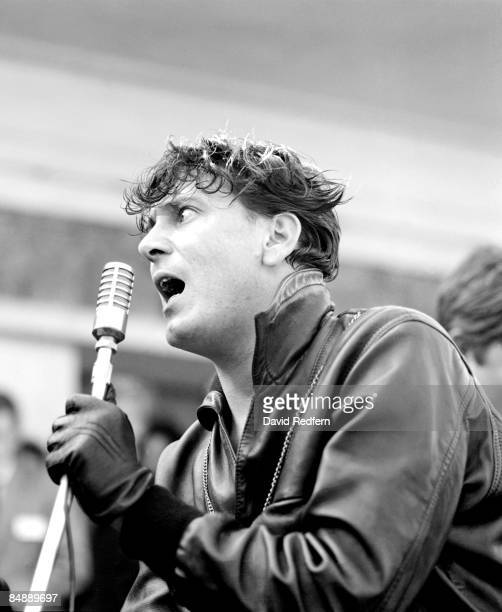HARBOUR Photo of Gene VINCENT performing live onstage at Rock Across The Channel concert