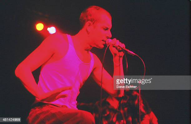 American rock band 311 performs on stage at the Wetlands Preserve nightclub June 25 1994