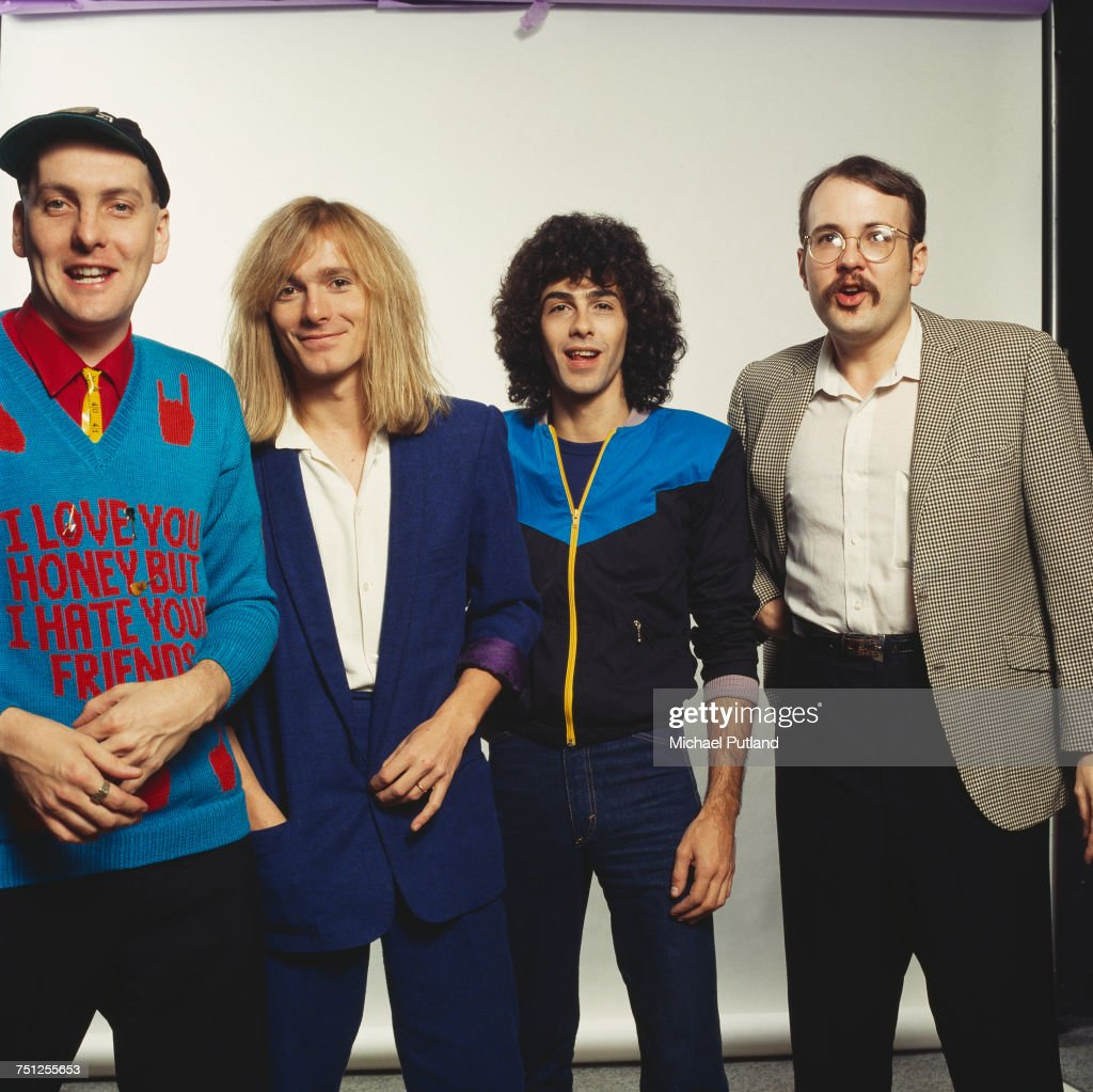 American rock band Cheap Trick, New York, November 1980. Left to right: guitarist Rick Nielsen, singer Robin Zander, bassist Tom Petersson and drummer Bun E Carlos.