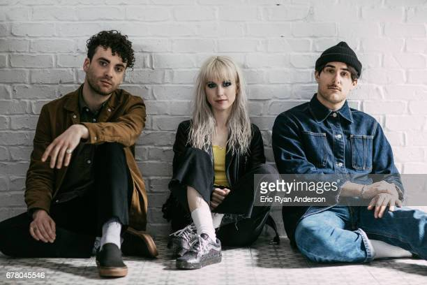 American rock band Paramore is photographed for New York Times on March 29 2017 in Nashville Tennessee