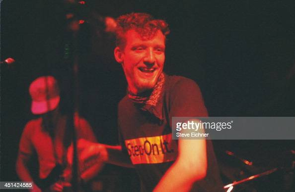 American rock band Spin Doctors performs on stage at the Wetlands Preserve nightclub August 23 1989