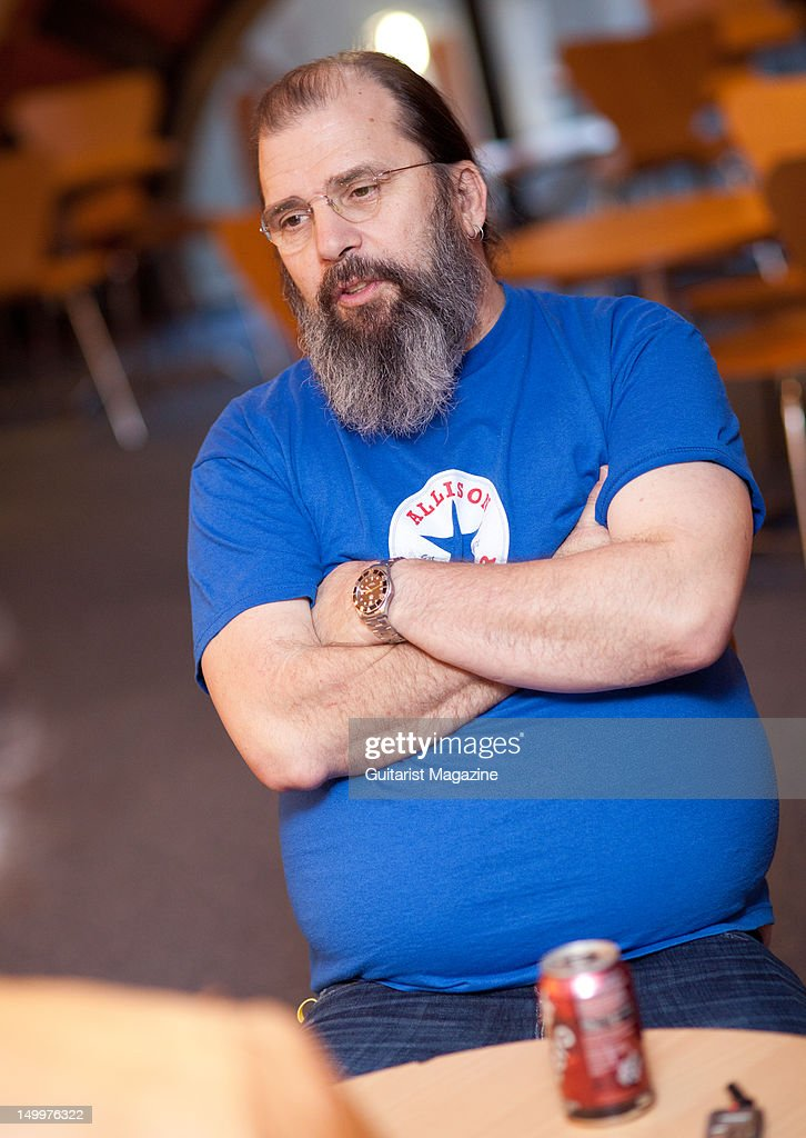 American rock, folk and country singer-songwriter Steve Earle, during an interview for Guitarist Magazine, November 9, 2011, The Cambridge Corn Exchange.