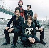 American rock group Buckcherry New York United States November 1999 Singer Josh Todd is at front centre