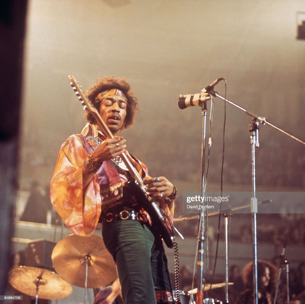 HALL Photo of Jimi HENDRIX, performing live onstage