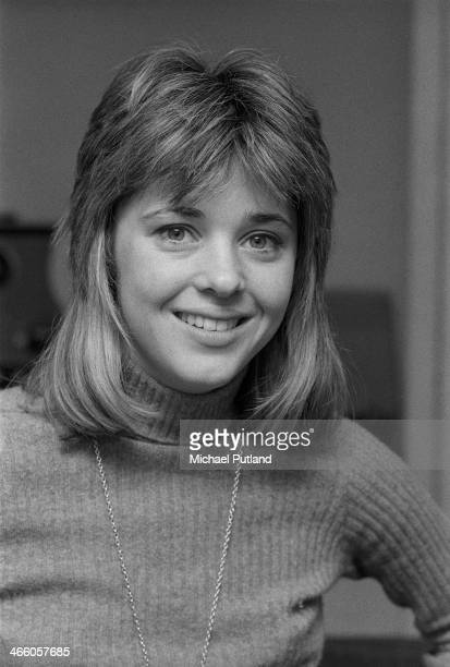 American rock singer and bassist Suzi Quatro April 1974